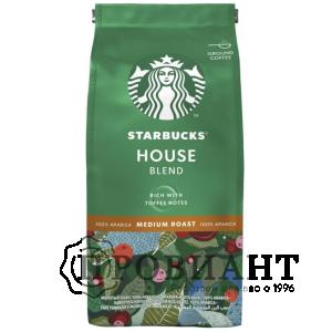 Кофе Starbucks House Blend молотый 200г