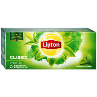 Чай Lipton classic зелёный 25п