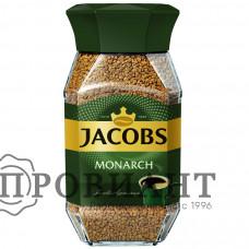 Кофе Jacobs Monarch растворимый 95г ст.б.