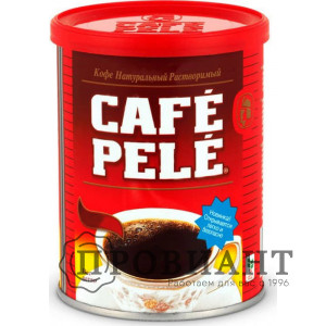 Кофе Cafe Pele растворимый порошкообразный 100г ж/б