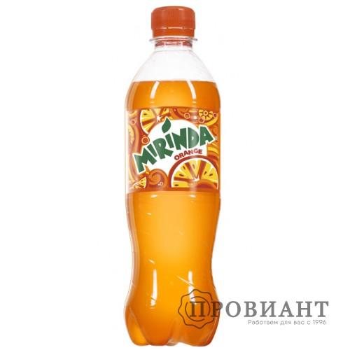 Газированный напиток Mirinda апельсин 0,5л