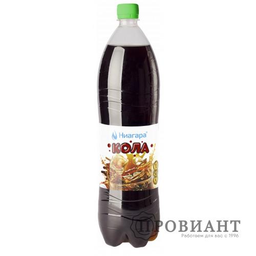 Газированный напиток Ниагара кола 1,5л