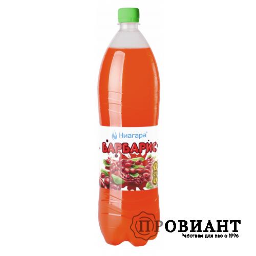 Газированный напиток Ниагара барбарис1,5л