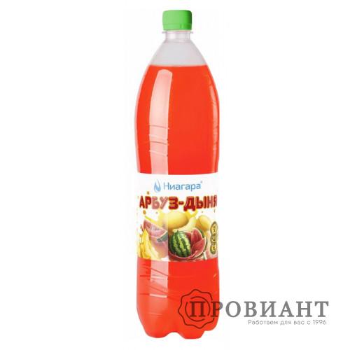 Газированный напиток Ниагара арбуз-дыня 1,5л