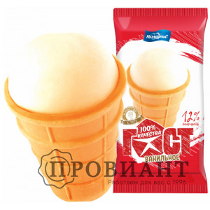 Мороженое ГОСТ ванильное 70г
