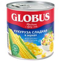 Кукуруза Globus 340г