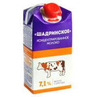 Молоко концентрированное Шадринское 7,1% 0,3л БЗМЖ