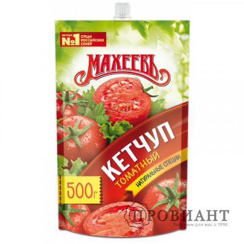 Кетчуп Махеевъ томатный 500г