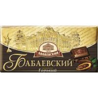 Шоколад Бабаевский тёмный горький 100г