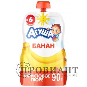 Пюре Агуша банан 90г