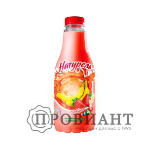 Напиток сыворочный Натурель клубника 930г