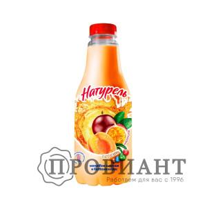 Напиток сыворочный Натурель персик и маракуйя 930г