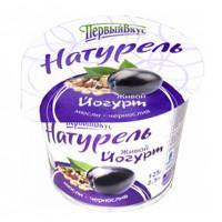 Йогурт живой мюсли-чернослив Натурель 2,5% 125г БЗМЖ