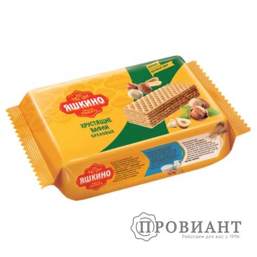Вафли Яшкино ореховые 200г