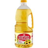 Масло подсолнечное Корона изобилия рафинированное 1,7л
