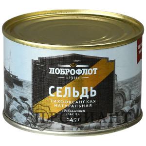 Сельдь Доброфлот 245г