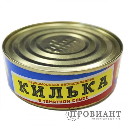 Килька Фаворит черноморская в т/соусе 240г