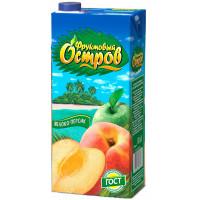 Нектар Фруктовый остров яблоко персик 1,9л