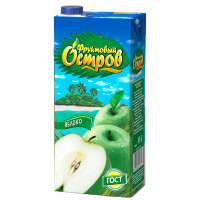 Нектар Фруктовый остров яблоко 1,9л