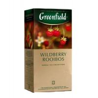 Чай Greenfield травяной Wildberry Rooibos 25п
