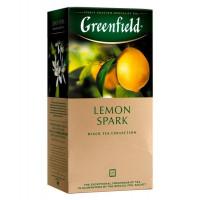 Чай Greenfield черный Lemon Spark 25п