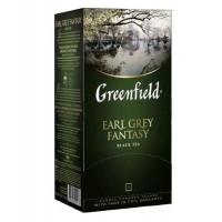 Чай Greenfield Earl Grey Fantasy чёрный с ароматом бергамота 25п