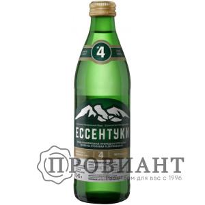 Вода минеральная лечебная Ессентуки №4 газ. 0,45л