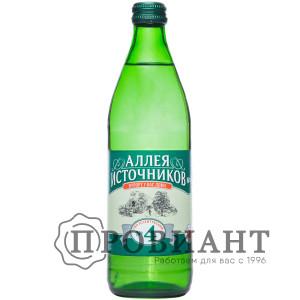 Вода минеральная лечебная Аллея источников №4 газ. 0,5л