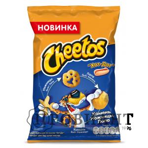 Кукурузные снэки Cheetos хот-дог 85г