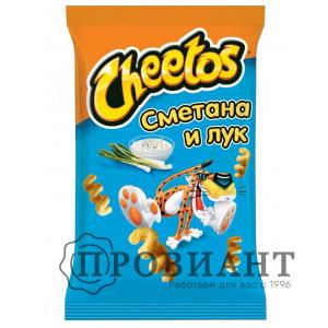 Кукурузные снэки Cheetos сметана и лук 55г