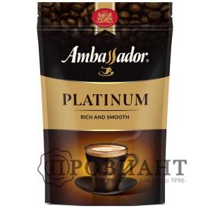 Кофе Ambassador Platinum растворимый 75г м.уп.