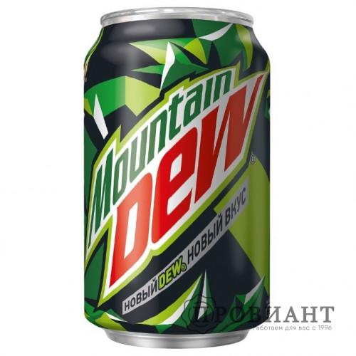 Газированный напиток Mountain Dew ж/б 0,33л