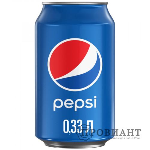 Газированный напиток Pepsi ж/б 0,33л