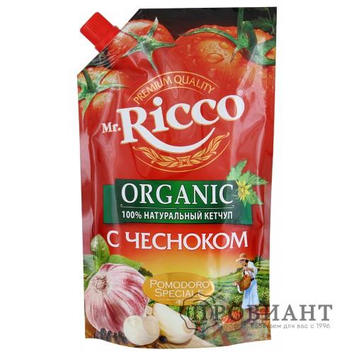 Кетчуп Mr.Ricco с чесноком 350г