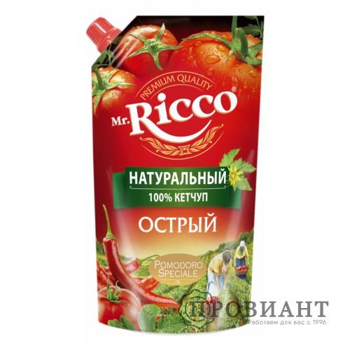 Кетчуп Mr.Ricco острый 350г