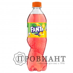 Газированный напиток Fanta мангуава 0,9л