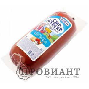 Сыр колбасный Сыр Бургер копчёный 400г БЗМЖ