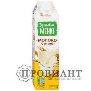 Молоко овсяное Здоровое меню 1л