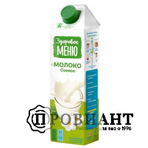 Молоко соевое Здоровое меню 1л