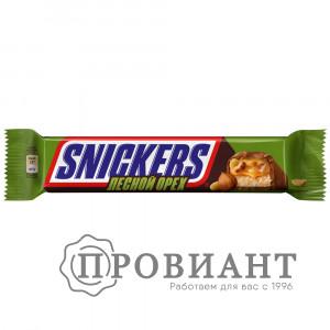 Батончик шоколадный Snickers с лесным орехом 81г