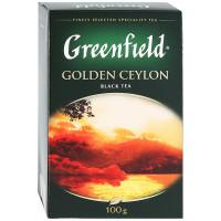 Чай Greenfield черный листовой 100г