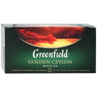 Чай Greenfield Golden Ceylon чёрный цейлонский 25п