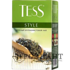 Чай Tess Style зелёный листовой 100г