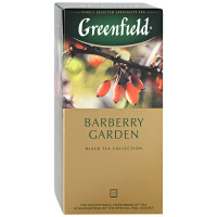 Чай Greenfield Barberry Garden чёрный с ароматом барбариса 25п