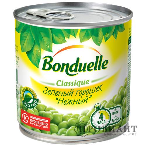 Горошек зеленый Bonduelle нежный 425мл