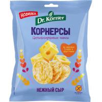 Чипсы Dr.Korner цельнозерновые нежный сыр 50г
