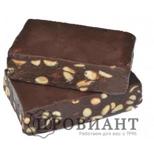 Щербет шоколадный молочный с орехами и какао (вес)