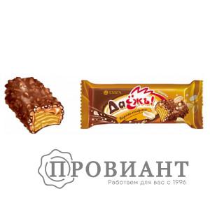 Конфета ДаЕжъ! с карамелью, арахисом и криспи (вес)