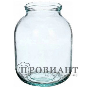 Банка стекло 3л
