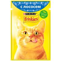 Корм для кошек Friskies с лососем 85 г